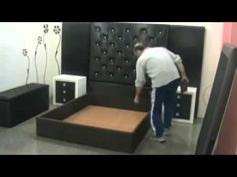 canape abatible tapizado de 135x190 -- Mevenden.com