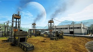 AUTOMATION EMPIRE   Ep. 6   Building Automated Factories Factorio Meets Satisfactory Gameplay