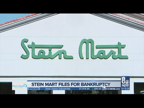 Shoppers react after Stein Mart files for bankruptcy