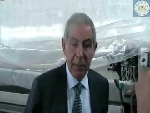 الوزير/طارق قابيل يقوم بجولة مفاجئة لموقع مدينة الجلود الجديدة بالروبيكى