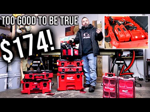 Milwaukee Tools PACKOUT Deal TOO GOOD TO BE TRUE!