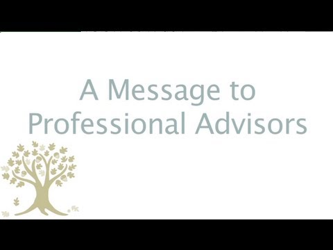 For Professional Advisors