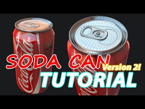 Autodesk Maya 2018  – Soda Can Tutorial