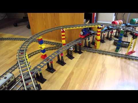 LEGO Thomas the Tank Engine train delivers Kraft peanut butter!