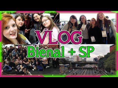 Vlog: BIENAL + SP | Louca dos livros 2018