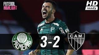 Palmeiras 3 X 2 Atlético-MG (HD) Melhores Momentos E Gols - Brasileirão (22/07/2018)