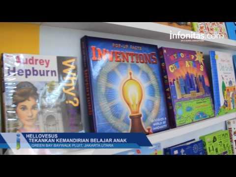 Hellovesus tekankan kemandirian belajar anak, Green Bay Baywalk Jakarta Utara