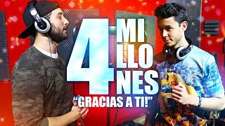 """GRACIAS A TI""   ESPECIAL 4 MILLONES   ElMele ft. TheGrefg"