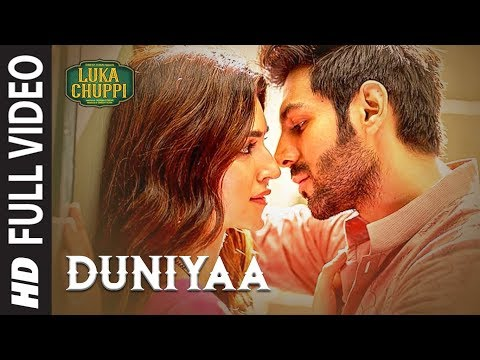 Download Luka Chuppi: Duniyaa Full Video Song | Kartik Aaryan Kriti Sanon | Akhil | Dhvani B Mp4 HD Video and MP3
