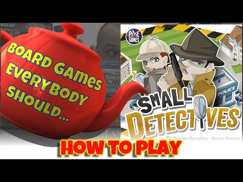 How To Play - Small Detectives