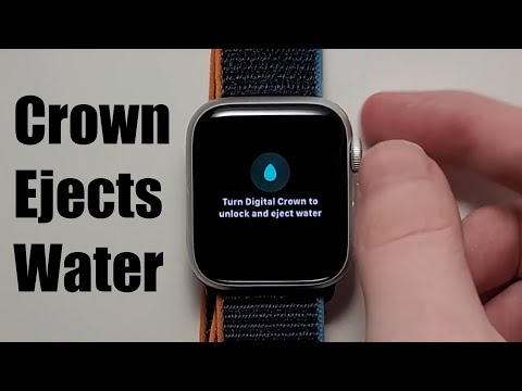 Apple Watch How to Remove Water & Turn Off Digital Crown