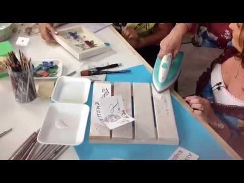 Como sublimar sobre madera - Beatriz Lecumberri