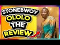 Stonebwoy - Ololo (Official Video) ft. Teni (Review/Reaction)