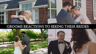 Grooms Reactions To Seeing Their Brides