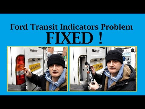 Ford Transit Indicator Problem - FIXED - THANK YOU TO EVERYONE WHO HELPED - Vanlife