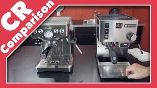 Breville Infuser Vs. Rancilio Silvia | CR Comparison