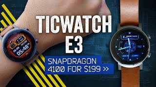TicWatch E3 Review: A Powerful But Plastic $199 Smartwatch