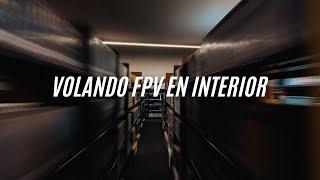 Volando FPV en interior!