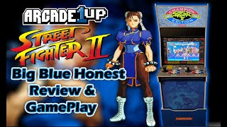 Arcade1up Street Fighter Big Blue Review and Gameplay!!