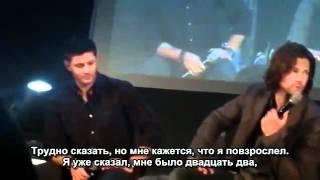 Сверхъестественное, С СПН по жизни - русские субтитры