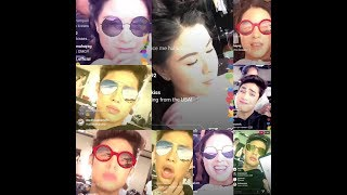 DonKiss: Donny IG live kulitan with Kisses