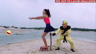 Cười Bể Bụng Với Ngộ Không Ăn Hại Và Gái Xinh - Phần 64 | Must Watch New Funny😂 😂Comedy Videos