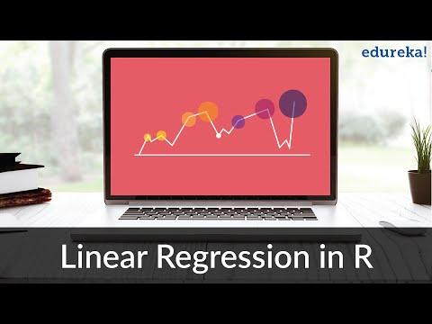Linear Regression in R | Linear Regression Model in R | R Programming Tutorial | Edureka