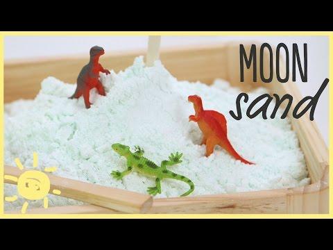 DIY | Kinetic Sand/Cloud Dough (Perfect Recipe!)