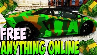 GTA 5 Online -  GET EVERYTHING ONLINE FREE (GTA 5 Glitches)