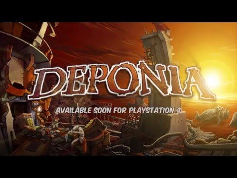 Видео № 0 из игры Deponia [PS4]