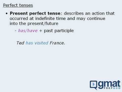 Understanding Perfect Tenses
