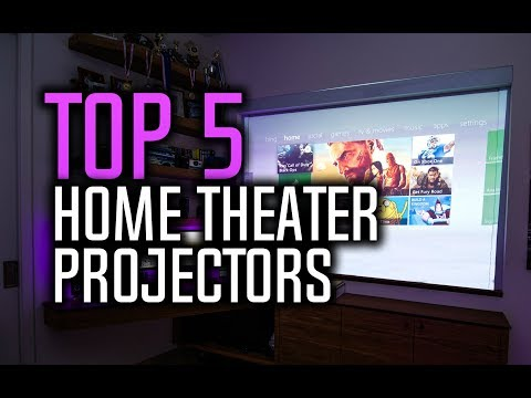 Best Home Theater Projectors in 2018!