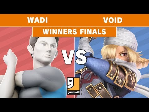Goodwill $10k Charity Invitational - AG | WaDi (Wii Fit Trainer) Vs. CLG | VoiD (Shiek) W. Finals