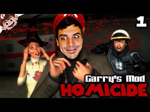 How To GET AWAY with Murder! (Garry's Mod: Homicide - Episode 1)
