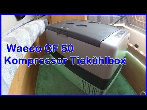 Waeco Kompressor Tiefkühlbox CoolFreeze  CF CFX 35/40/50/65 im Wohnmobil
