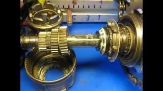 Sachs SRAM S7 Spectro How Does Shifting Work  Nabenschaltung 7 Gang Schaltschema