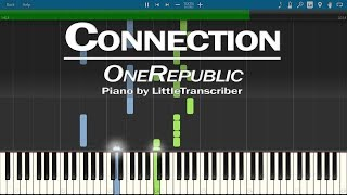 OneRepublic   Connection (Piano Cover) Synthesia Tutorial By LittleTranscriber