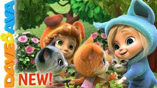 😋 Ring Around the Rosie   New Nursery Rhymes and Baby Songs   Dave and Ava 😋