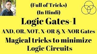 Logic Gates and their truth tables-1 (Digital Electronics-10) by SAHAV SINGH YADAV