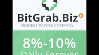 BitGrab новый иностранный проект по заработку биткоин