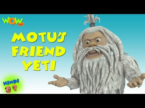 Motu's Friend Yeti - Motu Patlu in Hindi WITH ENGLISH, SPANISH & FRENCH SUBTITLES