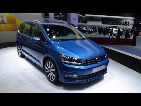 2016, Volkswagen Touran, Exterior and Interior, 2015 Geneva Motor Show