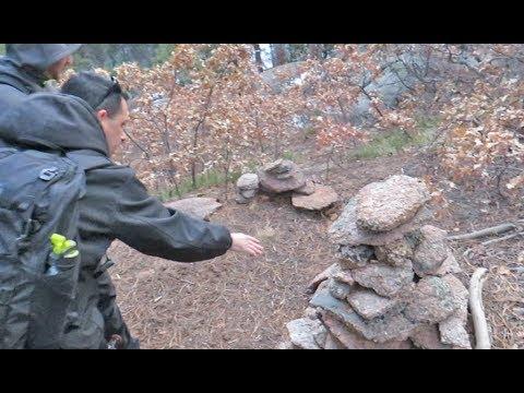 World's most amazing Bigfoot rock stack? Dec 2018, part 1