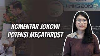 WOW TODAY: Komentar Jokowi soal Potensi Megathrust BMKG