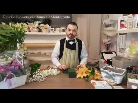Primo Corso gratuito composizioni floreali. Floral Designer Francesco Gioiello