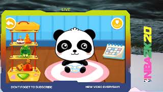 animation for kids baby bath time Tend to sneeze more often as babies than regularbaby pandas apple