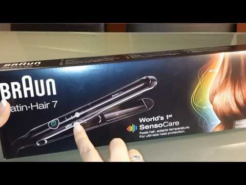 Unboxing: Braun Satin Hair 7 SensoCare Styler