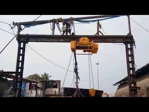 MS Wire Rope Electric Hoists