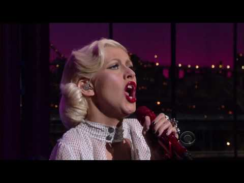 Christina Aguilera - You Lost Me (Live on David Letterman 06.09.10) HD
