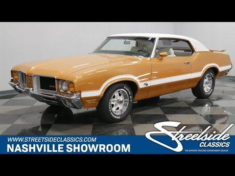 Video of Classic '72 Oldsmobile Cutlass Offered by Streetside Classics - Nashville - QIVH